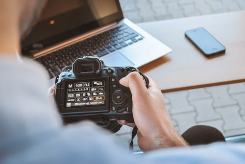 landscape photography camera setting