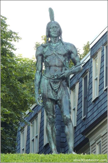 Massasoit, el líder de la tribu de los Wampanoag