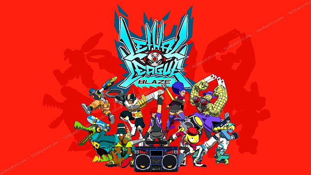 Tải Game Lethal League Blaze (Lethal League Blaze Free Download)