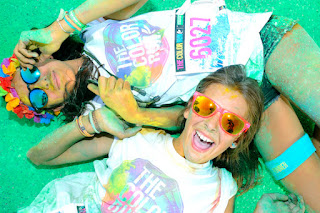THE COLOR RUN BY UNITED COLORS OF BENETTON SAN SIRO - © ANSA