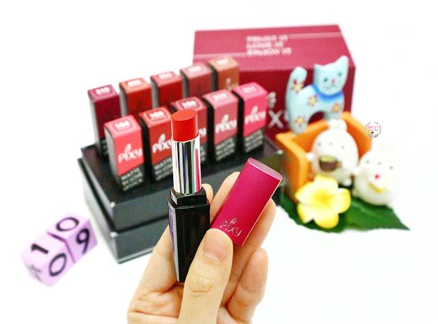 PIXY Matte in Love Lipstick #MeisUniqueBlog