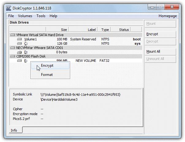 Disk Crpytor - Software Untuk Lindungi Data Pada Flashdisk USB Drive Anda