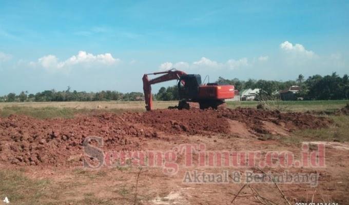 Diduga Ada Galian C Ilegal di Kecamatan Carenang, APH Diminta Bertindak