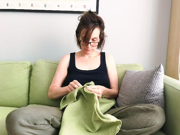Mittendrin - Ich beziehe meinen Ikea Sessel selber