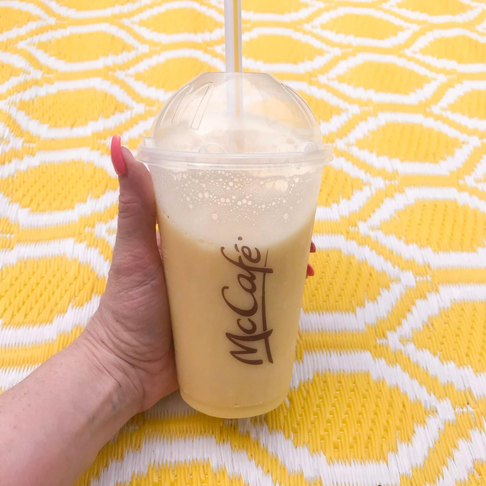 McDonald's Banana, Mango, Pineapple Smoothie