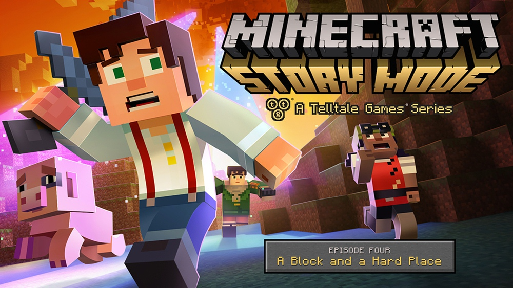 Minecraft Story Mode Download Episode 4 Poster
