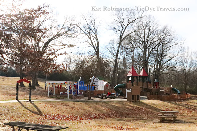 Conger Park's playground in Hernando, MS