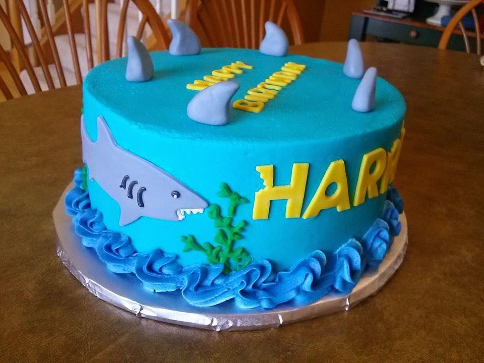 shark birthday cake Simply Sweet: Shark Birthday Cake shark birthday cake