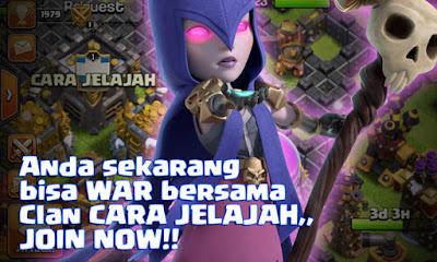 Join di Clan CARA JELAJAH Clash Of Clans