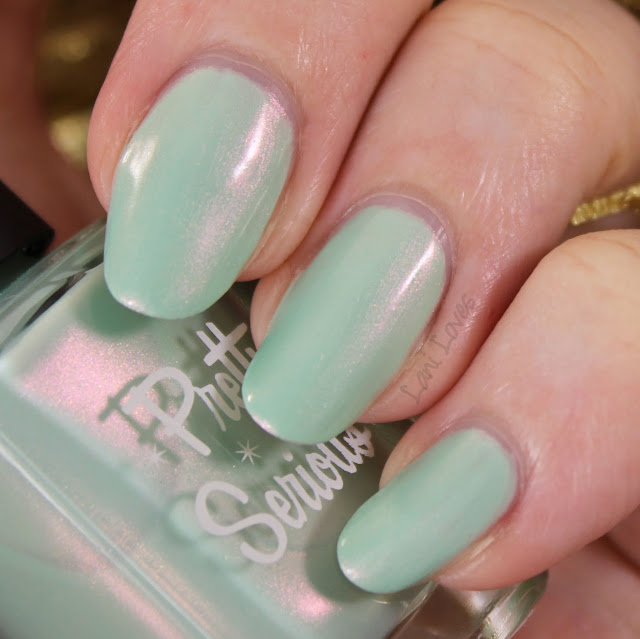 Pretty Serious Peace On Earth nail polish swatches & review