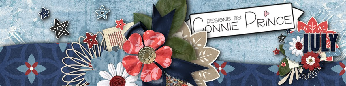 Connie Prince Digital Scrapbooking News