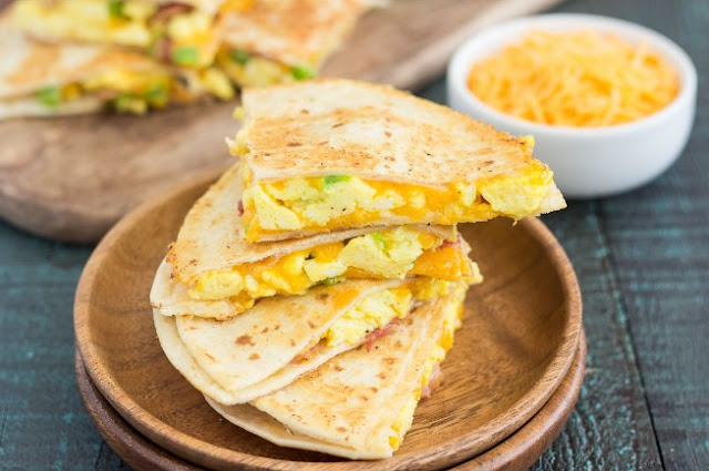 Breakfast Quesadillas #dinner #lunch