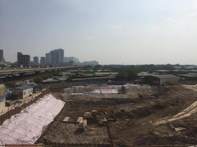 Dự án Housinco Grand Tower vẫn đang tiếp tục triển khai phần móng