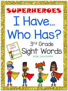 https://www.teacherspayteachers.com/Product/I-Have-Who-Has-3rd-Grade-Sight-Word-Game-Superheroes-2540743