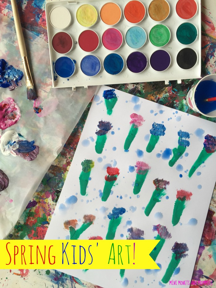 Flower Painting Are You Looking For More Kids Art Activities