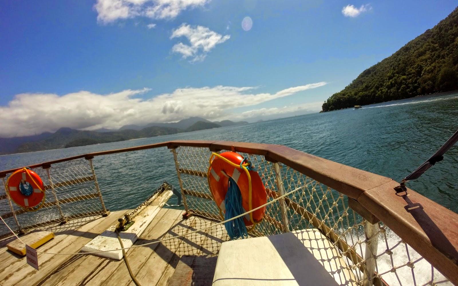 Passeio de Barco em Ubatuba