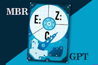 convert GPT ke MBR pada windows