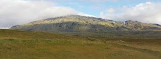 Volcán y glaciar Snæfellsjökull. Península de Snaefellsnes (Snæfellsnes). Islandia, Iceland.