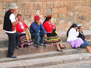 Local Peruvians Cusco