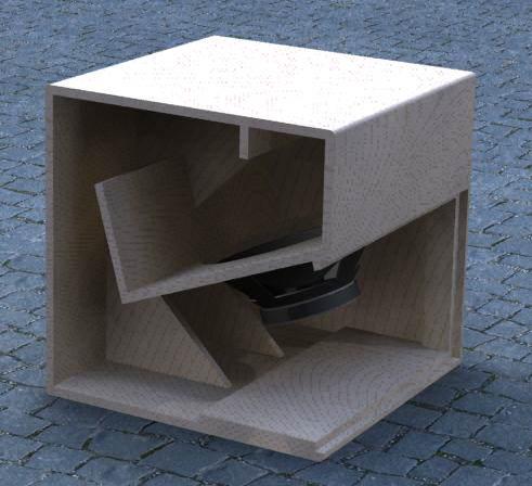 Final result Cubo 15 Speaker Plan