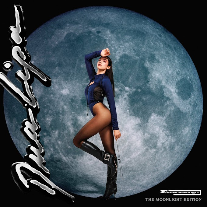 Encarte: Dua Lipa - Future Nostalgia (The Moonlight Edition)