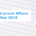 Current Affairs(29th May 2019): Daily GK Update