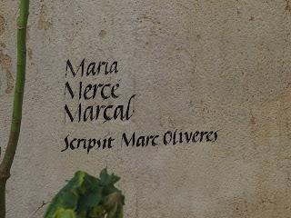 MARIA MERCÈ MARÇAL / Scripsit Marc Oliveres (Portbou) per Teresa Grau Ros