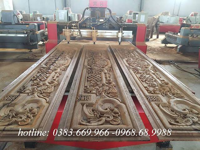 Áp dụng công nghệ điêu khắc gỗ bằng máy cnc