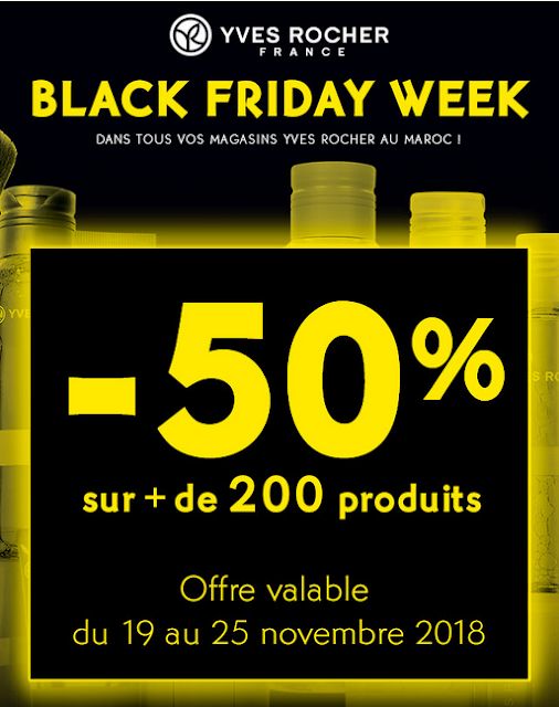 promotions yves rocher maroc block friday novembre 2018
