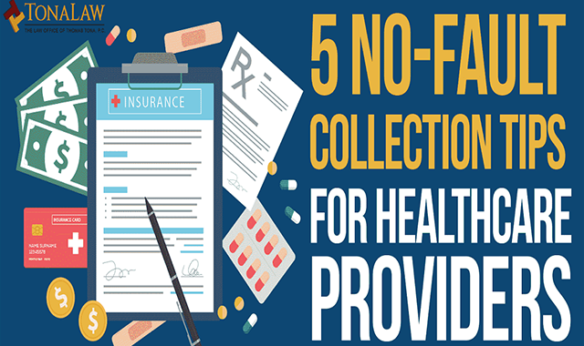5 No-Fault Collection Tips for Healthcare Providers