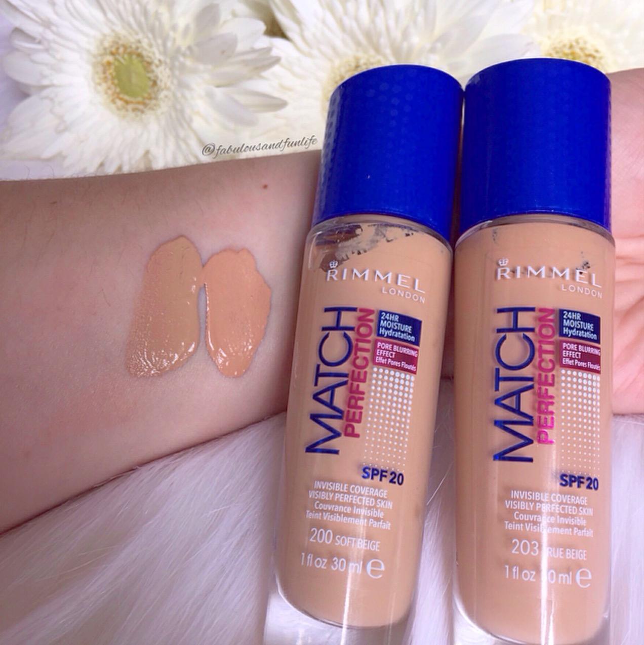 Rimmel Match Perfection Makeup Reviews Mugeek Vidalondon