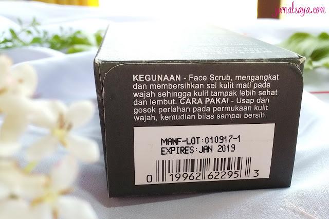 cara memakai face scrub yang benar