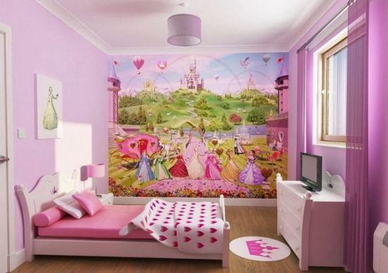Desain interior kamar tidur minimalis anak perempuan