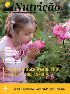 Capa da revista Nutrição em Pauta, destacando o artigo de Nutrição Integrativa