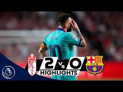 Granada vs Barcelona 2-0 All Goals And Match Highlights [MP4 & HD VIDEO]
