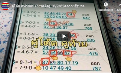 Thailand lottery 100% win tips public group Facebook 16 September 2019
