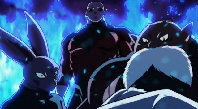 Dios de la Destrucción Toppo Jiren Universo 11