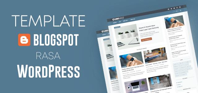 Linkmagz Template Blogspot Rasa WordPress