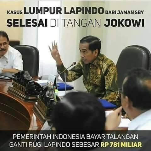 Hasil Kinerja Dan Prestasi Pak Jokowi Presiden Republik Indonesia Yang Sekarang Tertimbun Infrastruktur