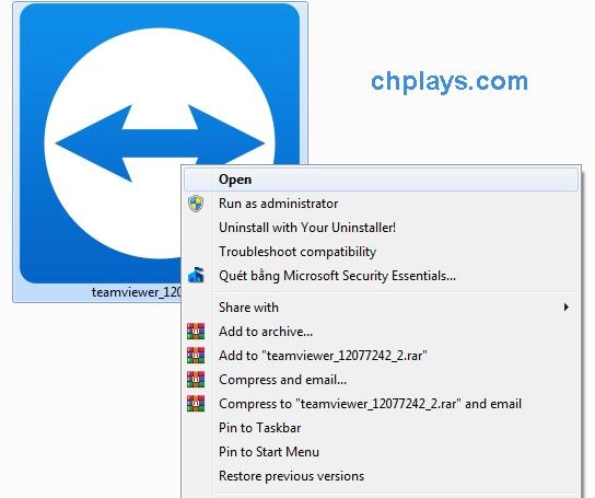 Cài đặt TeamViewer 12 trên máy tính - Hướng dẫn chi tiết có hình ảnh 1