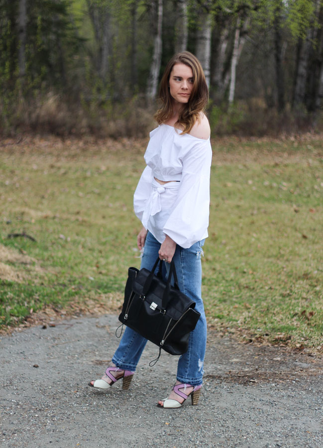 Spring trends- off the shoulder