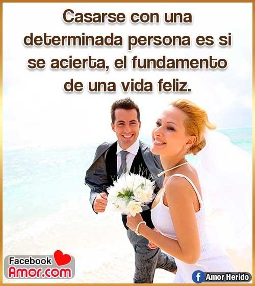 matrimonio feliz frases