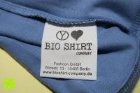 Etikett: Bioshirt Company Damen Basic Fitness-Shirt Yogashirt Sport Fitness T-Shirt TankTop
