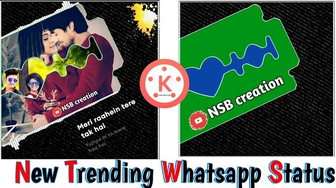 How To Make trending Whatsapp Status Video in Kinemaster video editing tutorial in hindi and marathi