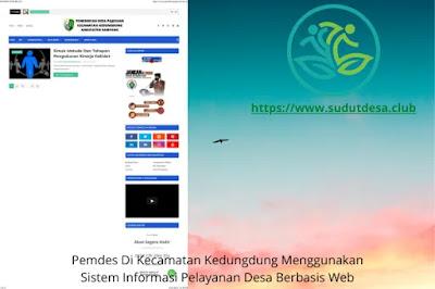 Website Desa Pajeruan