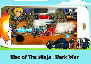 Rise of the ninja : dark war