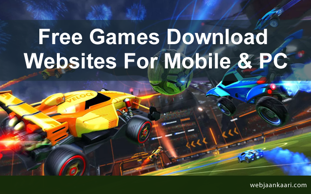 Top 10 Free Games Download Websites For Mobile Pc
