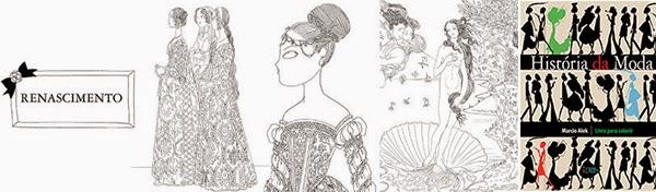 Blog Profashional Editora Moda Para Colorir Historia Da Moda