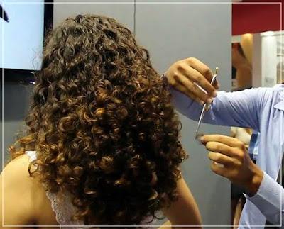persiapan catok rambut