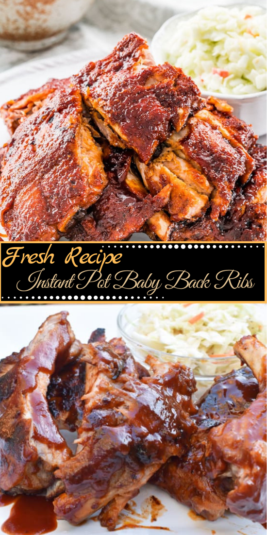 Instant Pot Baby Back Ribs #dinnerrecipe #food #amazingrecipe #easyrecipe